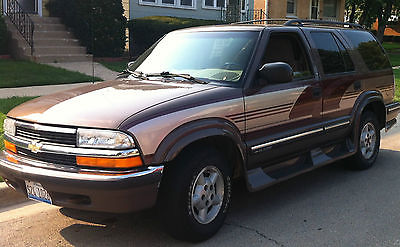 Chevrolet : Blazer LS Sport Utility 4-Door Chevy Blazer 4WD winter driving four wheel drive snow