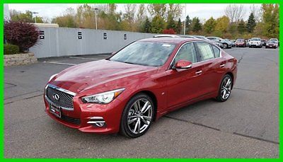 Infiniti : Q50 4dr Sdn AWD PRE-OWNED 2015 Q50 AWD WITH TECH / NAV / DELUXE TOURING PKGS, 23108 MILES