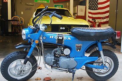 Honda : CT HONDA CT70  1170 ORIGINAL MILES, CAN BE SHIPPED ON FREIGHT TRUCK