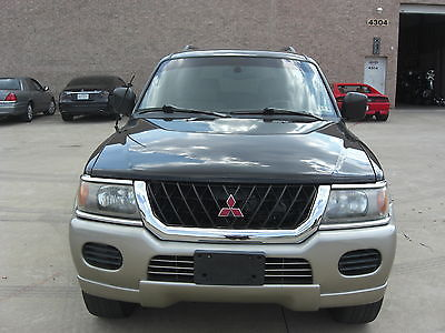 Mitsubishi : Montero Sport 2001 mitsubishi montero sport xls 100 k new engine serviced clean stereo a
