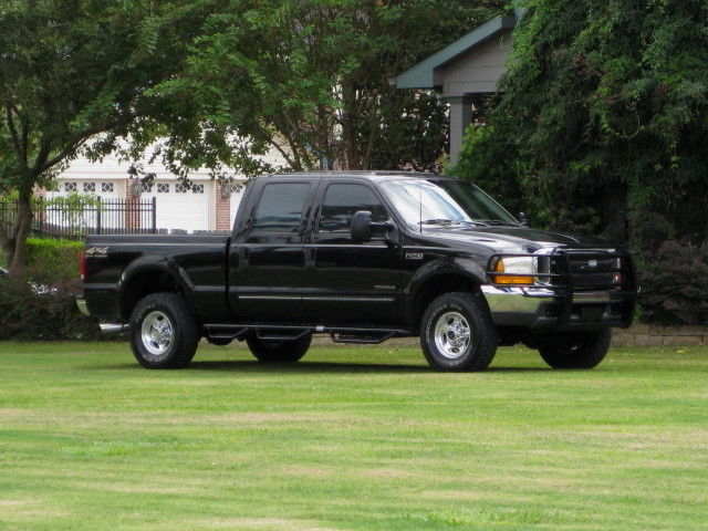 Ford : F-250 4x4 DIESEL! CREW CAB SHORT BED ( LARIAT ) LOW MILEAGE! SUPER CLEAN...
