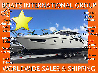 2012 AZIMUT 38 ATLANTIS 2-Stateroom DIESEL Yacht - We Ship/Export Worldwide