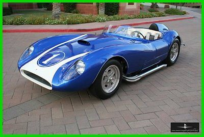 Other Makes : Roadster 1958 scarab continuation series chrome vintage classic nice blue
