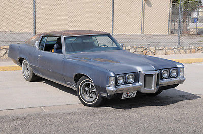 Pontiac : Grand Prix J 1969 pontiac grand prix j triple blue project car runs and drives nice