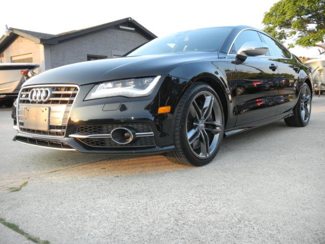 Audi : Other S7 PRESTIGE 2013 audi s 7 carbon fiber bose sound heads up titanium wheels warranty gorgeous