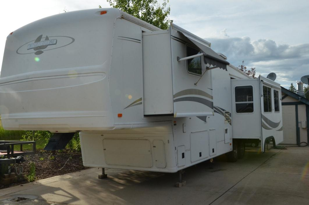 2000 Avion 5th Wheel