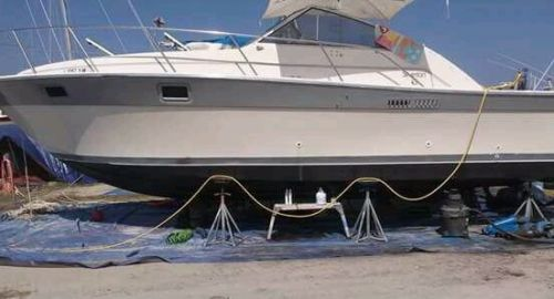 1985 31 silverton twin 350 crusaders great running liveaboard