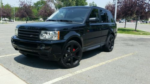 Land Rover : Range Rover Sport Supercharged Sport Utility 4-Door 2008 land rover range rover sport supercharged