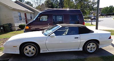 Chevrolet : Camaro 25TH Anniversary 1992 chevrolet camaro rs 25 th anniversary convertible 2 door 5.0 l