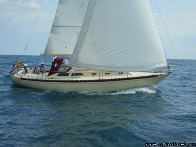 Islander 36, Sailboat
