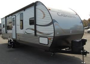 2014 Coachman Catalina 29ft mega slide