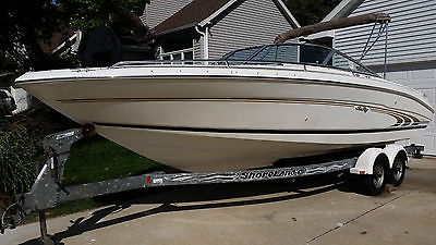 1997 Sea Ray 230 open bow, Mercruiser 5.7 EFI, Bravo Three and trailer