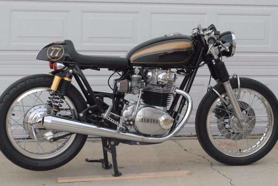 1977 Yamaha XS 1977 Yamaha XS 650 / 750 Cafe Racer Built by Greg Hageman of