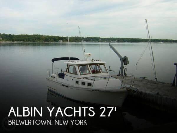 1988 Albin Yachts 27 Family Cruiser