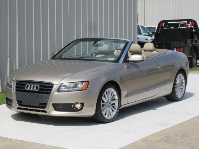 Audi : A5 2.0T Conv 10 audi a 5 convertible premium plus 2.0 l turbo quattro nav camera sensors 90 k tx