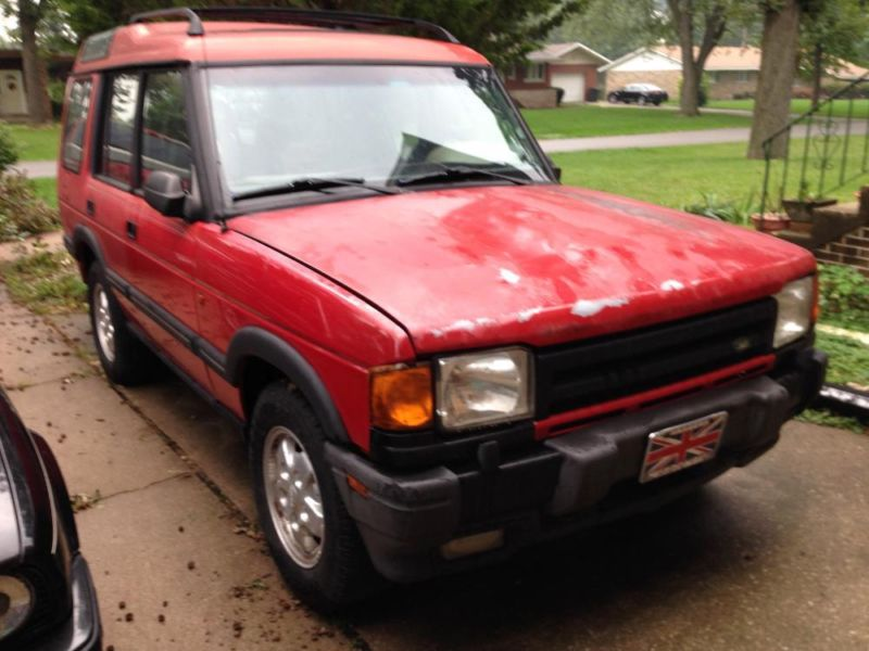 1996 Land Rover Discovery with 5 speed manual transmission