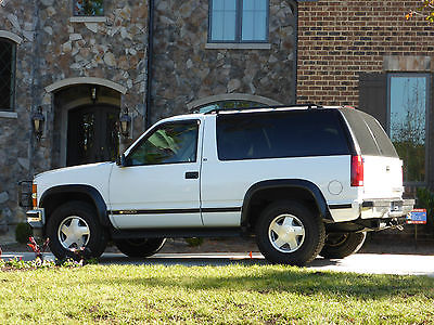 Chevrolet : Tahoe LS Sport Utility 2-Door Chevy Tahoe 2dr (like GMC Yukon) 4 wheel drive in excellent condition