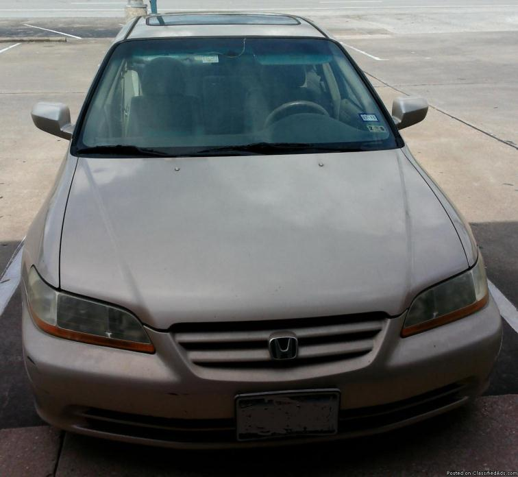 2002 Honda Accord Ex Cars For Sale In Houston, Texas