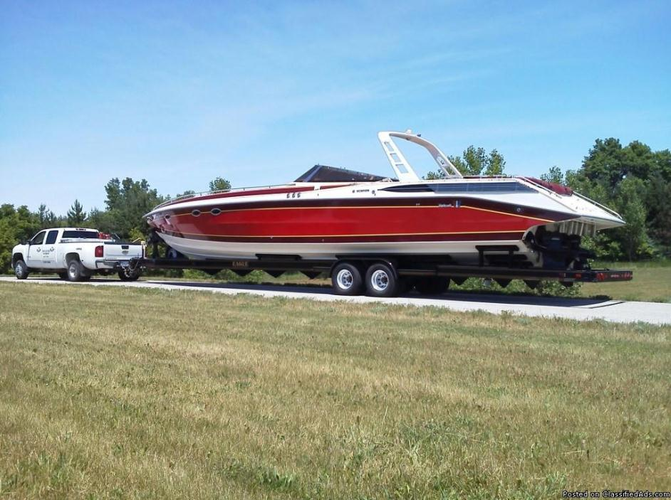1987 Wellcraft Scarab 50' Meteor boat