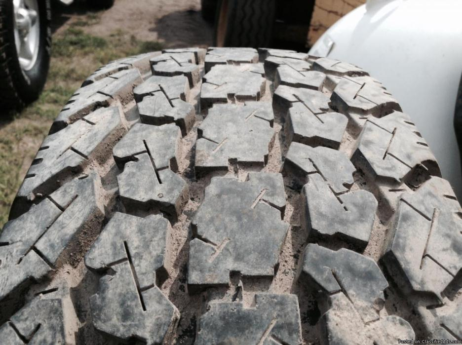 Set of 6 225-75-16 Tires