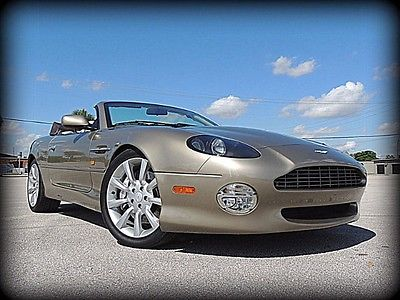 Aston Martin : Vantage Volante TWO OWNER, BREATHTAKING COLORS, RARE OPTIONS, TIME CAPSULE - CONCOURSE QUALITY!