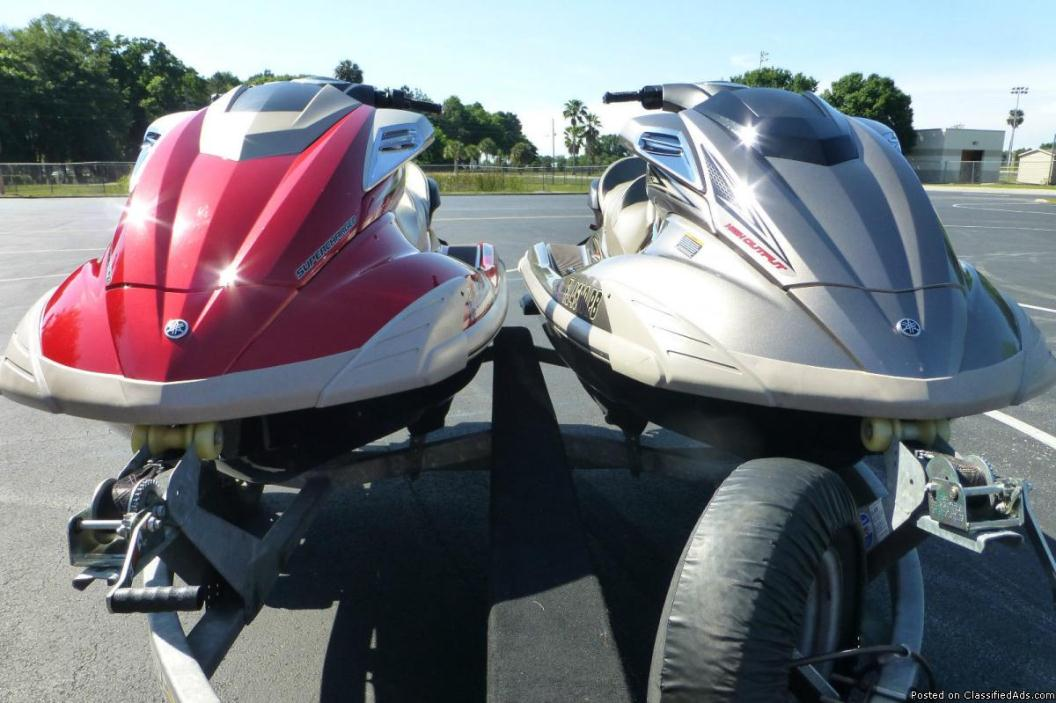 Yamaha fx cruiser sho waverunners boats for sale for Yamaha waverunner dealers near me