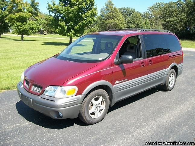 1999 Pontiac Montana van