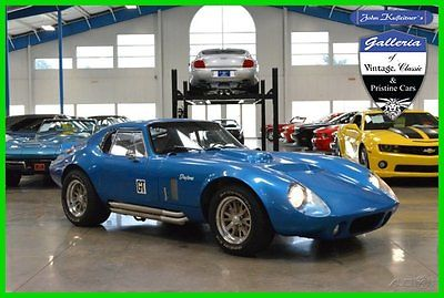 Other Makes : Daytona Coupe replica kit car 1964 factory 5 289 r daytona cobra coupe replica 5.8 l 430 hp 351 windsor 392 ci 64