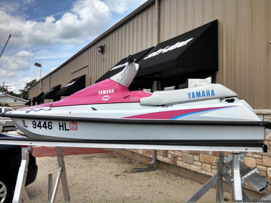 Used 1992 Yamaha 650 Waverunner Personal Watercraft Jet-ski Jetski