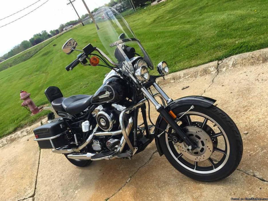 1994 Harley-Davidson FXRP Police Motorcycle