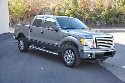 Ford : F-150 CREWCAB ECOBOOST 3.5 V6 TWIN TURBO 4X4 31K MILES 1 2012 ford f 150 crewcab ecoboost 3.5 v 6 twin turbo 4 x 4 31 k miles 1 owner 22 mpg