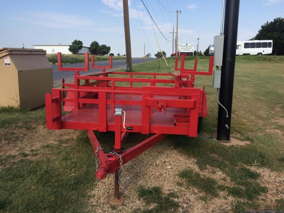 Welding rig trailer