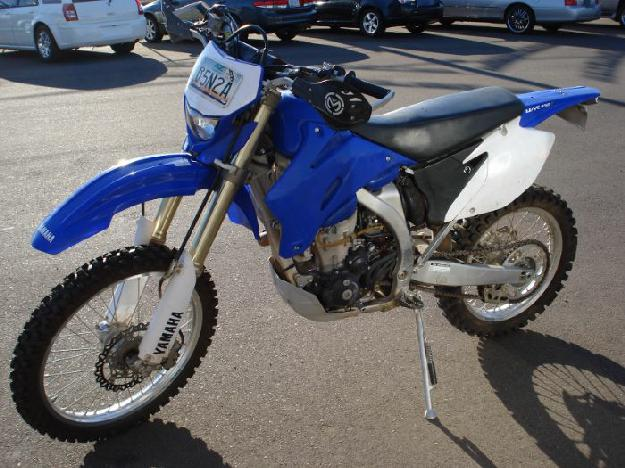 2008 YAMAHA WR450F Street Legal, Dual Sport, Finance Available - DV Auto Center, Phoenix Arizona