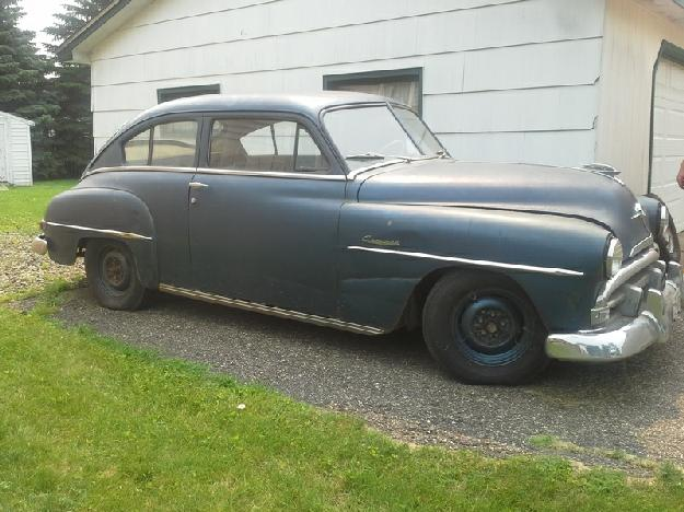 1952 Plymouth Concord for: $2500