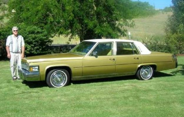1977 Cadillac Fleetwood Brougham for: $9800