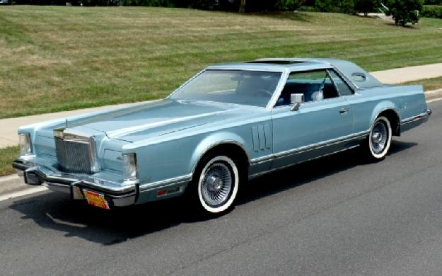 1979 Lincoln Continental for: $23990
