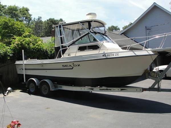1987 Sea Ox 230 C Walkaround