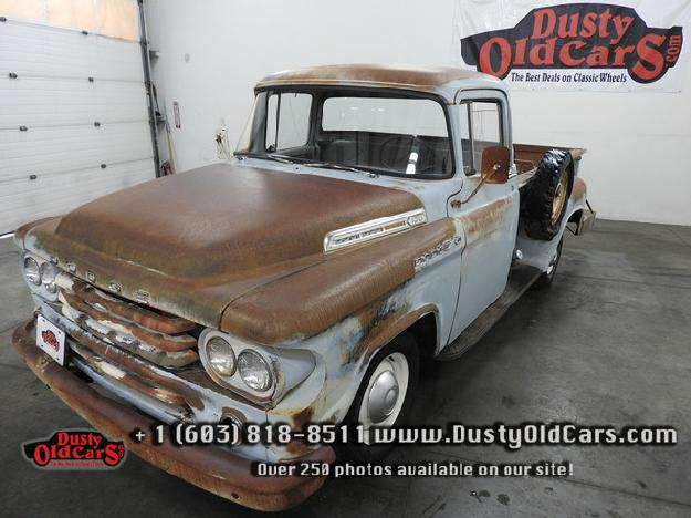 1958 Dodge Ram 100 - Dusty Old Classic Cars, Derry New Hampshire