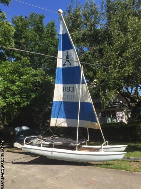 Aquacat sailboat