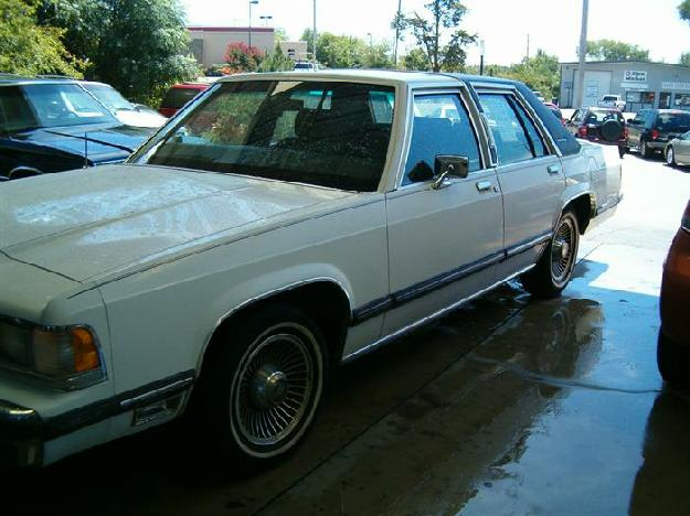 1988 Mercury Grand Marquis LS - Edward Motor Company, Hot Springs Arkansas