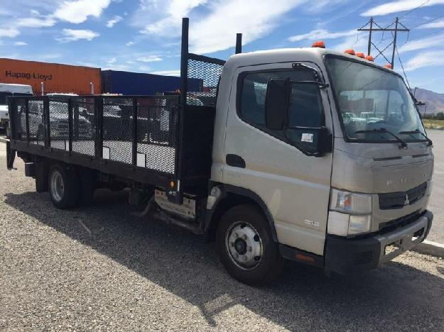 Mitsubishi fuso canter fe160 flatbed truck for sale