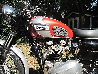 Triumph : Bonneville 1969 triumph bonneville 1995 frame off restoration owners handbook shop manual