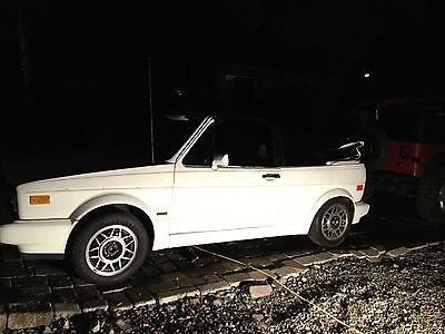 Volkswagen : Other Cabriolet White on white convertible, automatic,VW Cabriolet