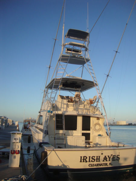 1990 Bertram 50 Convertible with twin MAN engines