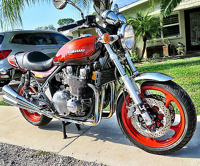 Kawasaki : Other Kawasaki ZR1100: Sport Rider - A custom Z-1 that's everything it was-and more.