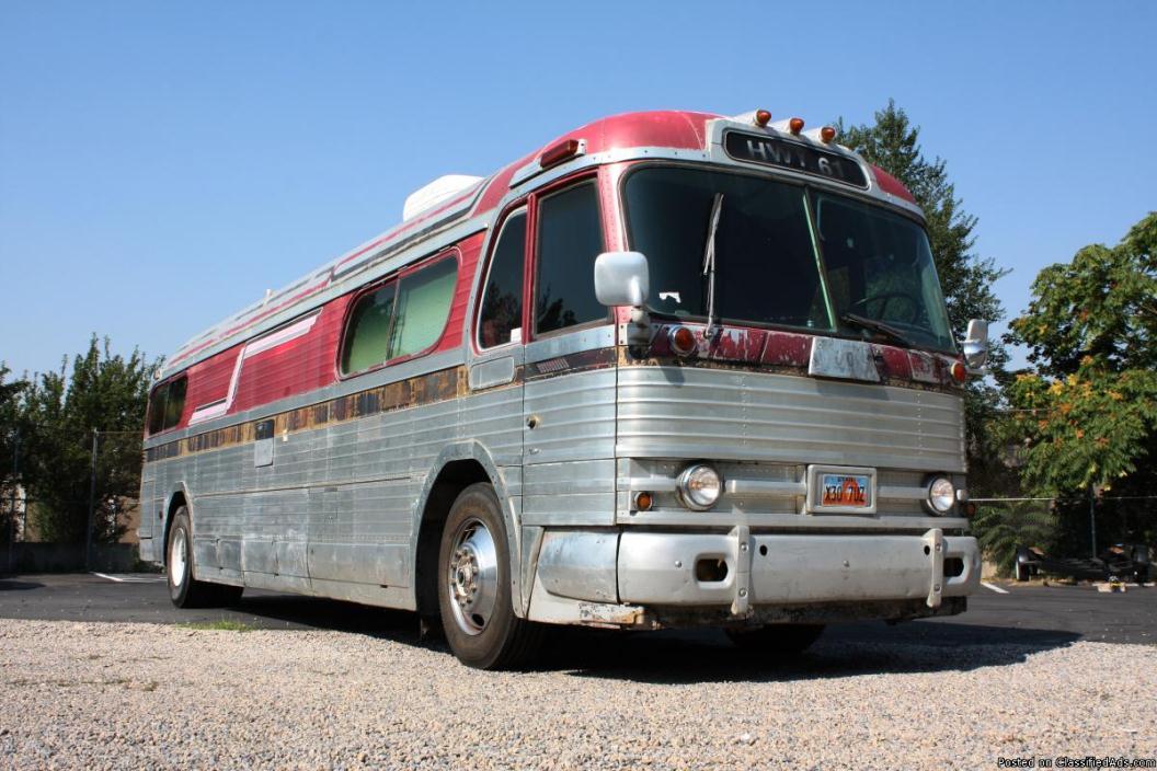 1957 Greyhound Bus Motorhome Conversion