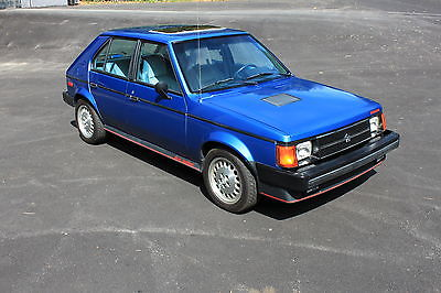 Dodge : Other 1986 DODGE OMNI GLH TURBO NOT SRT4 NOT WRX   *RARE* 1-OF-800 * 1986 DODGE OMNI GLH TURBO * ONLY 32K MILES !! *