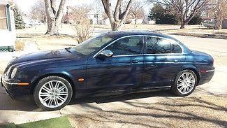 Jaguar : S-Type 4.2 2007 jaguar s type 4.2 solid luxury sedan 300 hp v 8 82 000 miles new parts nav