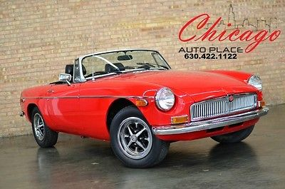 MG : MGB 1 OWNER - ALL ORIGINAL - RARE FIND - MINT CONDITION CLASSIC CAR 1974 mg 1 owner all original rare find mint condition classic car
