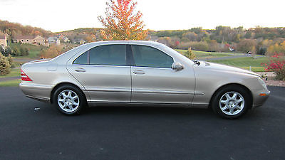 Mercedes-Benz : S-Class S 2001 mercedes benz s 500 sedan